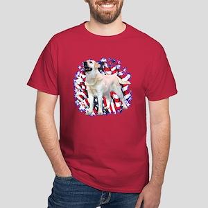 "Lab ""YLW"" Patriotic Dark T-Shirt"
