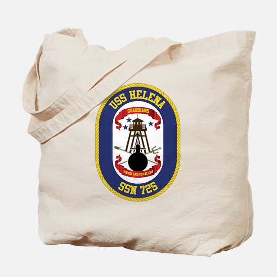 USS Helena SSN-725 Tote Bag