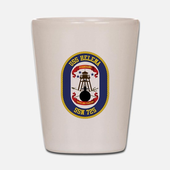 USS Helena SSN-725 Shot Glass
