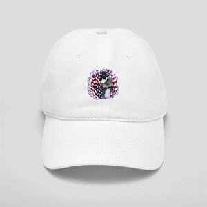 Mini Schnauzer Patriotic Cap