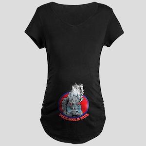 Squirrel Maternity Dark T-Shirt