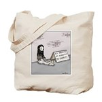 Bum gives profits to charity Tote Bag