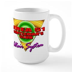 Club Area 51 Altair System Large Mug