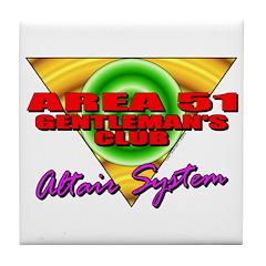 Club Area 51 Altair System Tile Coaster