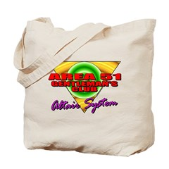 Club Area 51 Altair System Tote Bag