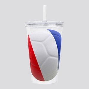 France world cup ball Acrylic Double-wall Tumbler