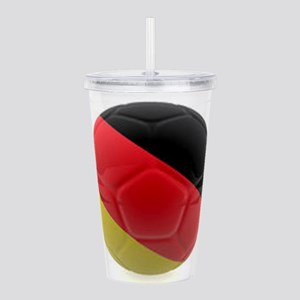 Germany world cup ball Acrylic Double-wall Tumbler