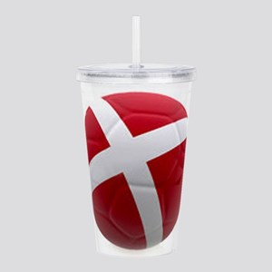 Denmark world cup ball Acrylic Double-wall Tumbler