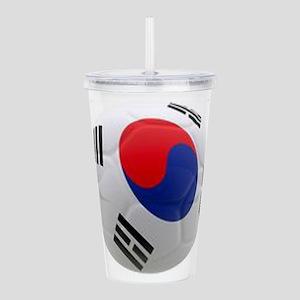 South Korea world cup Ball Acrylic Double-wall Tum