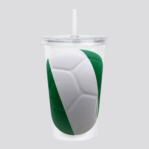 Nigeria World Cup Ball Acrylic Double-wall Tumbler