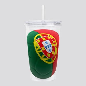 Portugal World Cup Ball Acrylic Double-wall Tumble