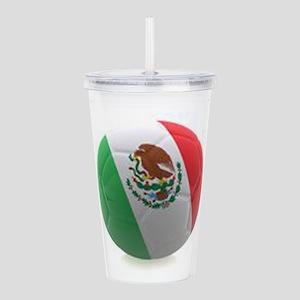 Mexico World Cup Ball Acrylic Double-wall Tumbler