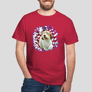 PBGV Patriotic Dark T-Shirt