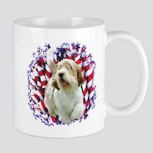 PBGV Patriotic Mug