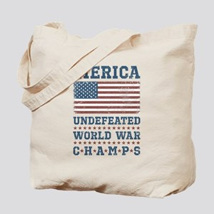 'Merica World War Champs Tote Bag
