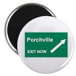 Porchville Exit Magnet