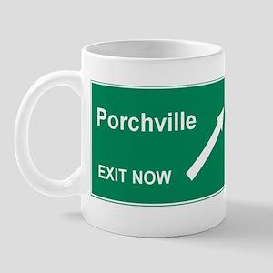 Porchville Exit Mug