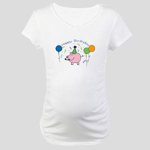 Boy Happy Birthday Maternity T-Shirt