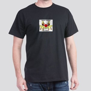 Gettin Hitched to a chick Dark T-Shirt