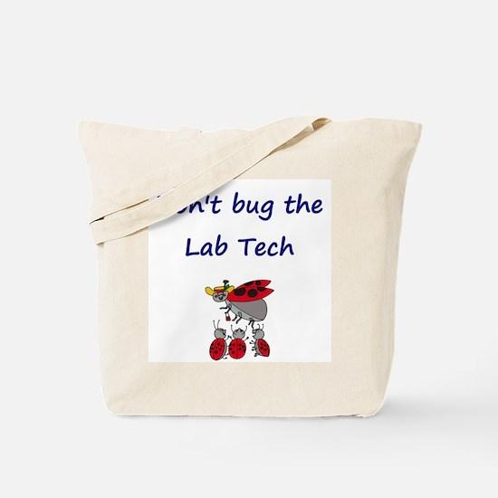 Lab Tech Ladybugs Tote Bag