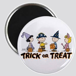 The Peanuts Gang: Trick or Treat Magnet