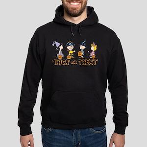 The Peanuts Gang: Trick or Treat Hoodie (dark)