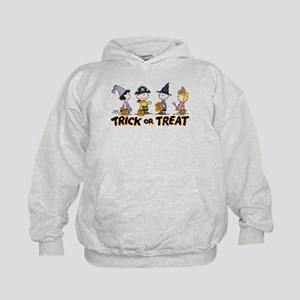 The Peanuts Gang: Trick or Treat Kids Hoodie