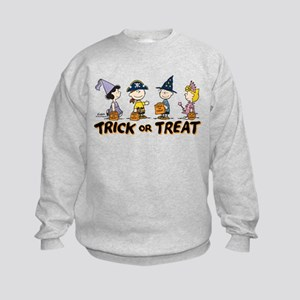 The Peanuts Gang: Trick or Treat Kids Sweatshirt