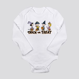 The Peanuts Gang: Tric Long Sleeve Infant Bodysuit
