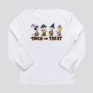 The Peanuts Gang: Trick Long Sleeve Infant T-Shirt