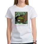 Electric Antler Women's Classic White T-Shirt