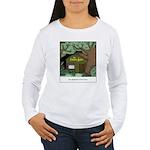 Electric Antler Women's Long Sleeve T-Shirt