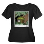 Electric Women's Plus Size Scoop Neck Dark T-Shirt