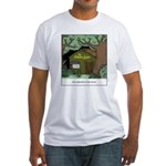 Electric Antler Fitted T-Shirt