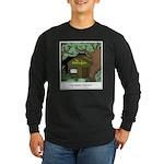 Electric Antler Long Sleeve Dark T-Shirt