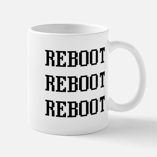 Reboot Reboot Reboot Mugs