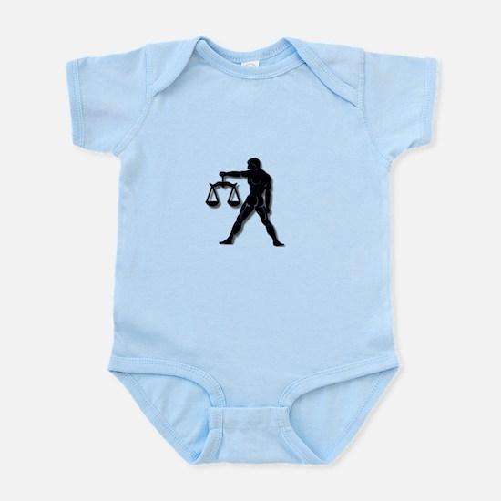 Libra Zodiac Symbol Body Suit
