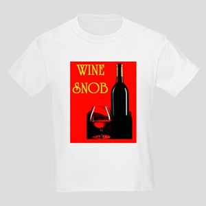 WINE SNOB Kids Light T-Shirt