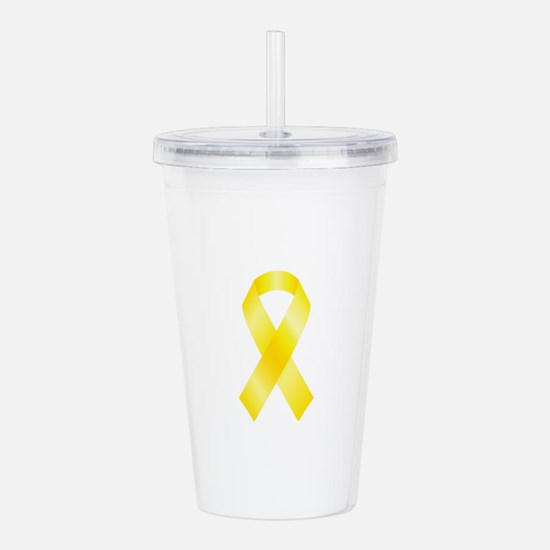 Cute Suicide prevention Acrylic Double-wall Tumbler