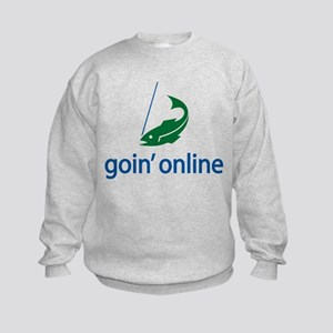 goin' online Kids Sweatshirt