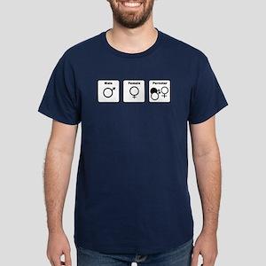 """Male, Female, Pornstar"" -- Standard-Cut T-shirt"