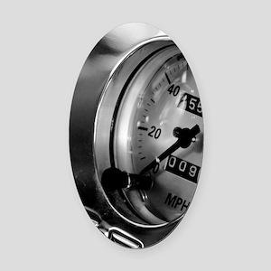Dashboard Oval Car Magnet