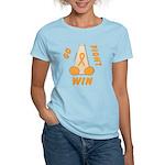 Orange GO..WIN Women's Light T-Shirt