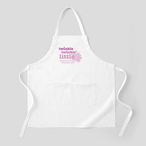 Twinkle Twinkle Pink BBQ Apron