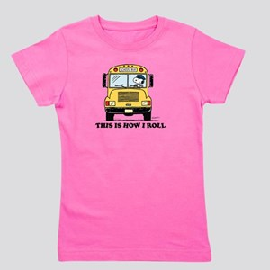 Snoopy: This is How I Roll Girl's Tee