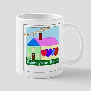Open your Heart Mugs