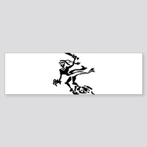 ghost_white Bumper Sticker