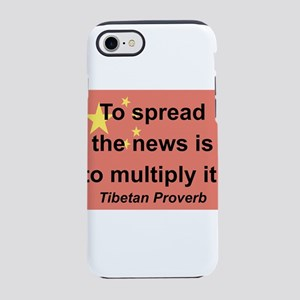 To Spread The News iPhone 7 Tough Case