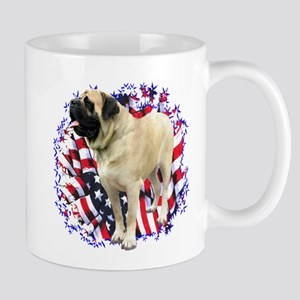 Mastiff(fawn) Patriot Mug