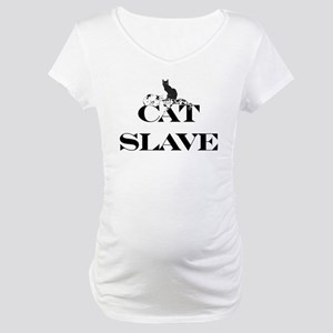 Cat Slave Maternity T-Shirt